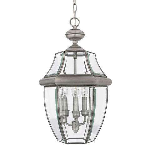 "Yahi 21"" Tall 3 Light Outdoor Pendant"