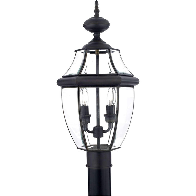 "Yahi 21"" Tall 2 Light Outdoor Post Light"