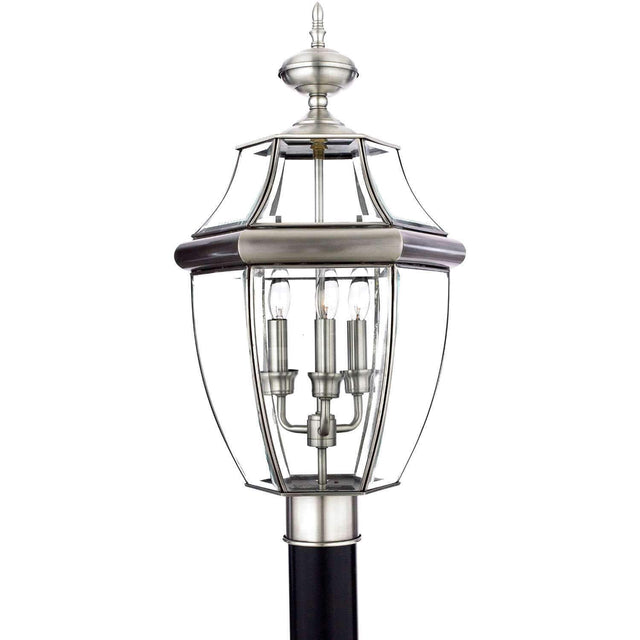 "Yahi 23"" Tall 3 Light Outdoor Post Light"
