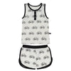 Bikes Bamboo Tank and Shorts Set