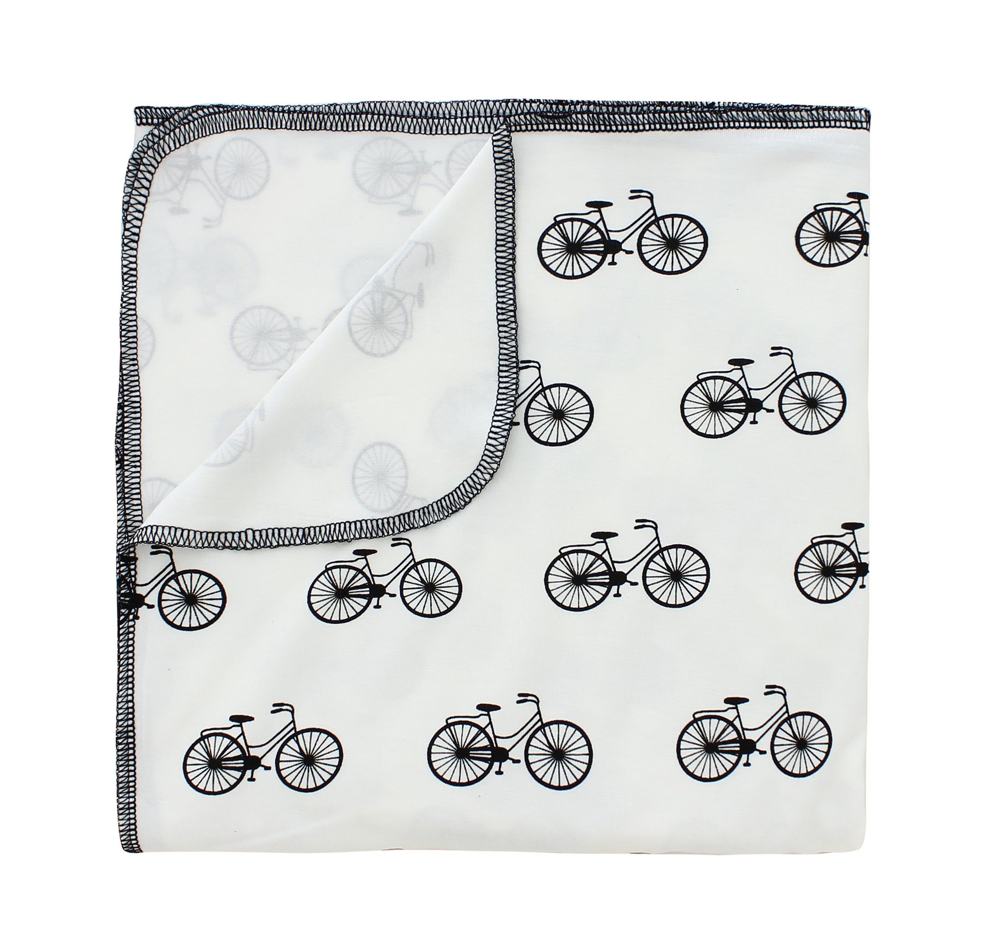 Bikes Bamboo Luxe Swaddle Blanket