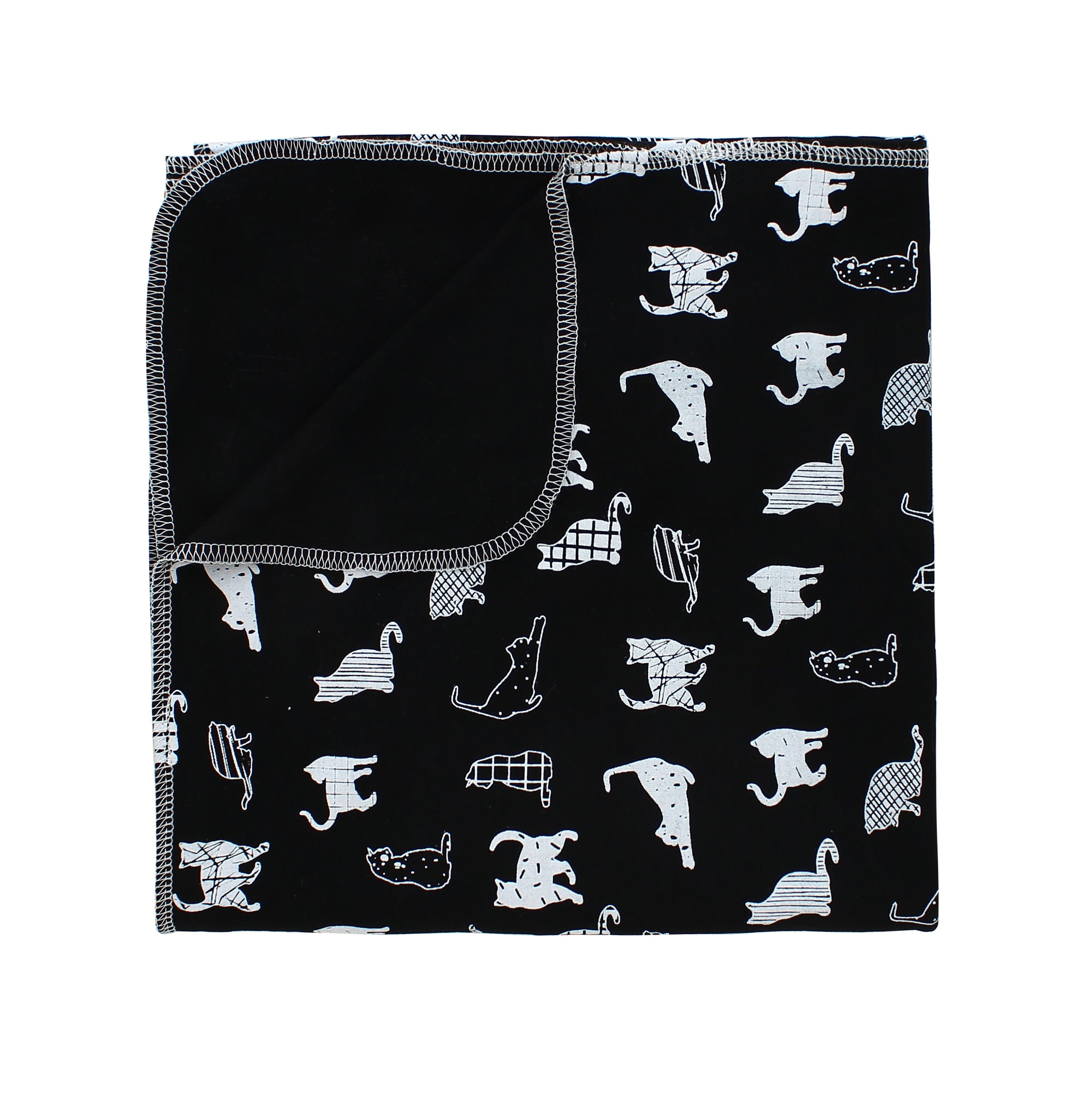 Kitties Bamboo Luxe Swaddle Blanket