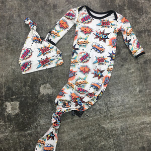 Comic Bamboo Newborn Set