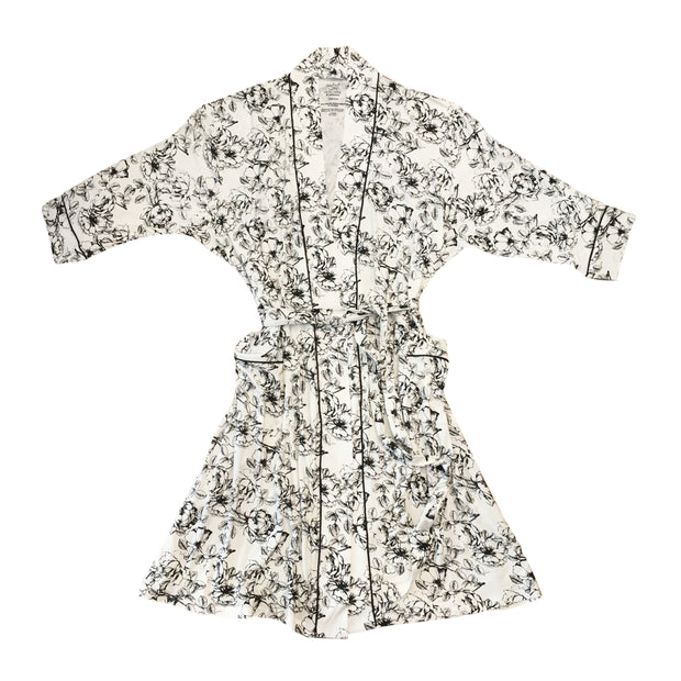 Floral Bamboo Mom Robe 1