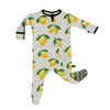 Lemons Bamboo Footed Sleeper