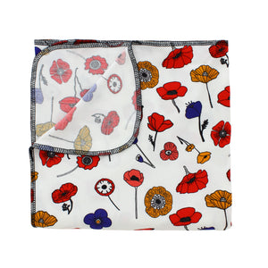Mod Poppies Bamboo Luxe Swaddle Blanket