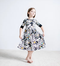 Splatter Paint Twirl Dress