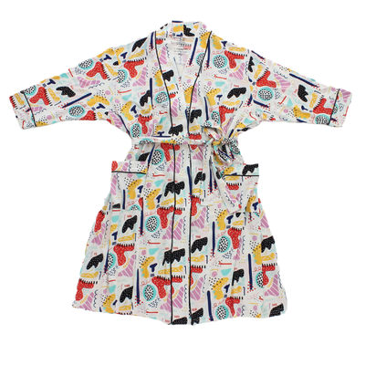 Modern Art Bamboo Adult Robe