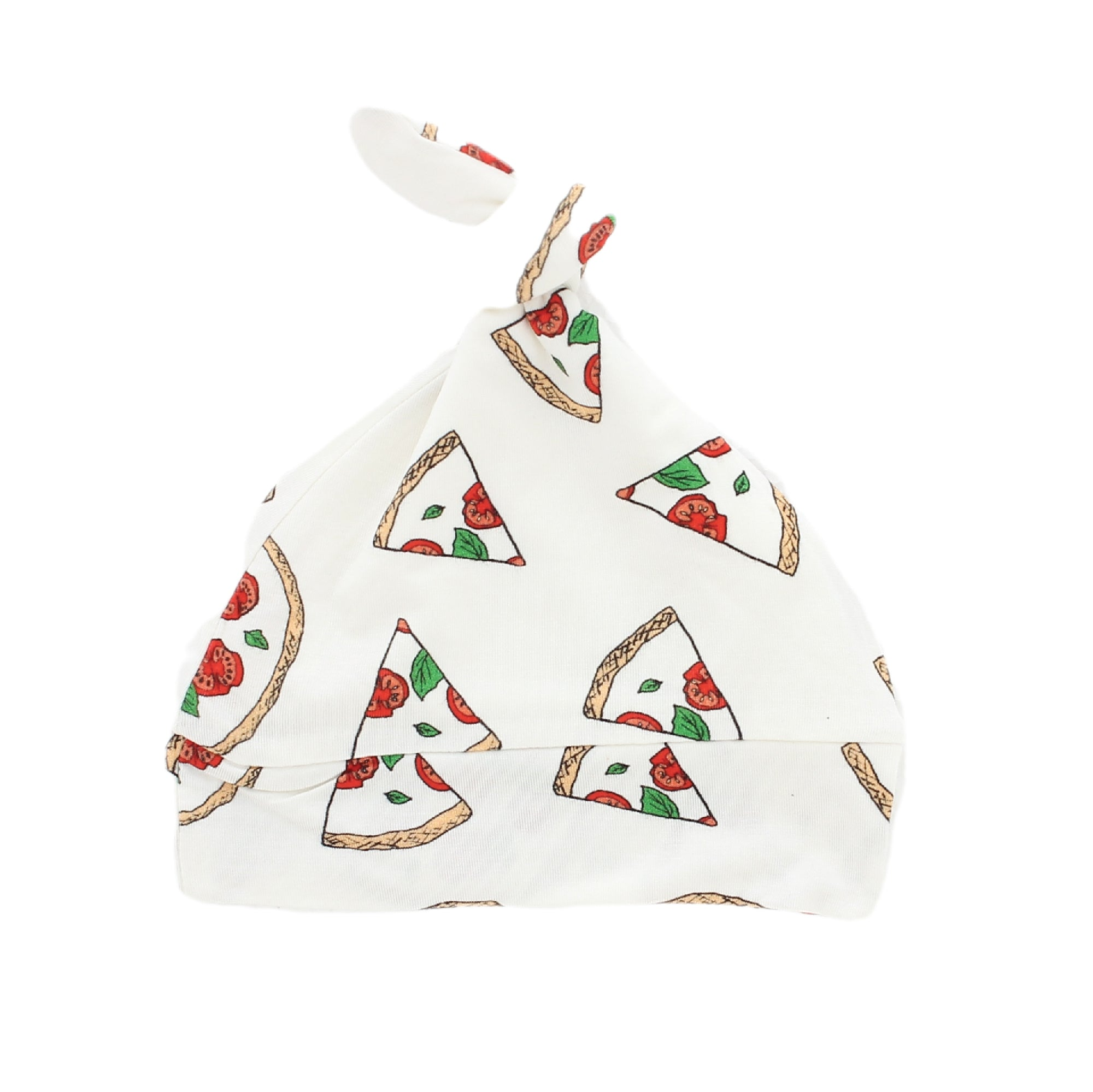 Pizza Bamboo Knotted Hat