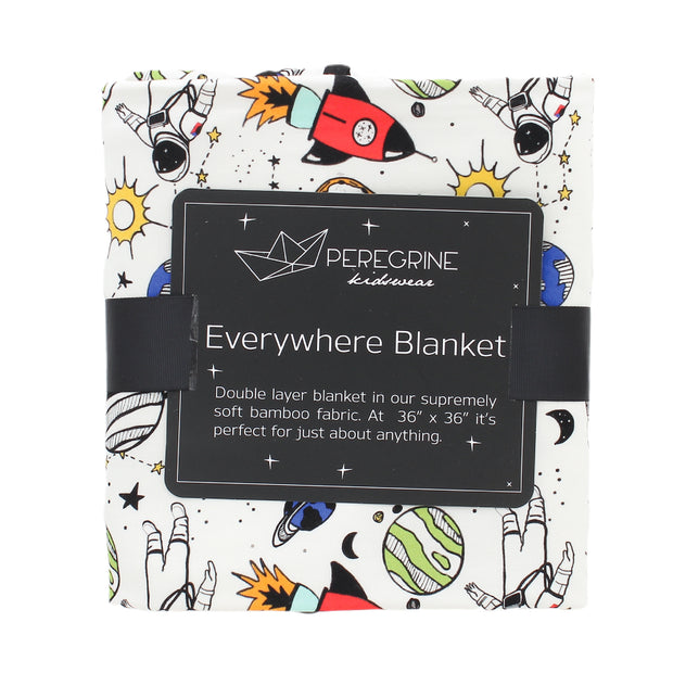 Space Doodle Bamboo Everywhere Blanket 1