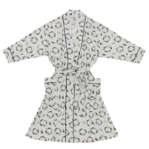Wreaths Bamboo Adult Robe