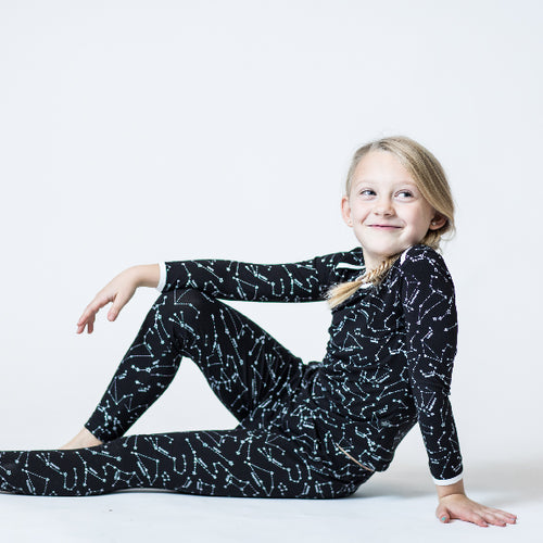 Constellations 2 Piece Bamboo Pajama Set