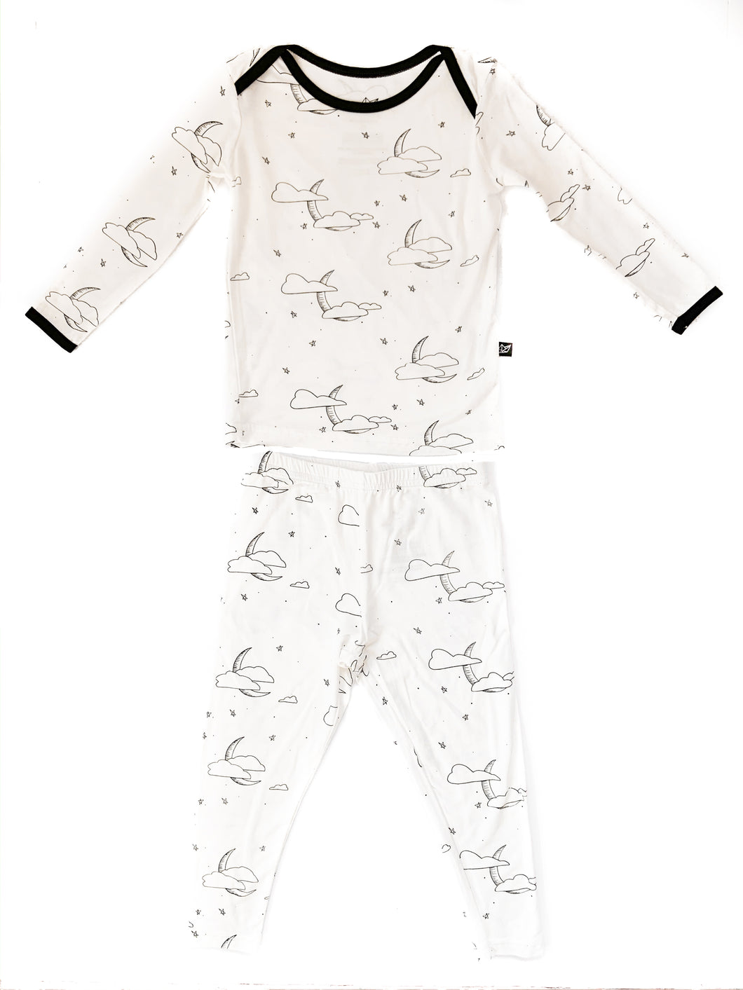 Cloud Moon 2 Piece Bamboo Pajamas