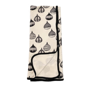 Hot Air Balloon Everywhere Bamboo Blanket