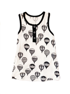Hot Air Balloons Tank Dress
