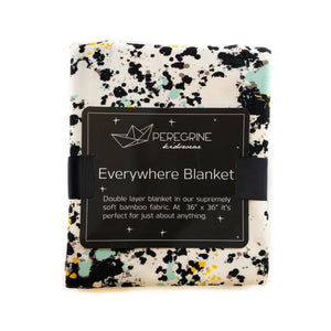 Splatter Paint Bamboo Double-Layer Everywhere Blanket