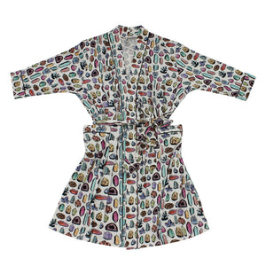 Crystals Bamboo Adult Robe