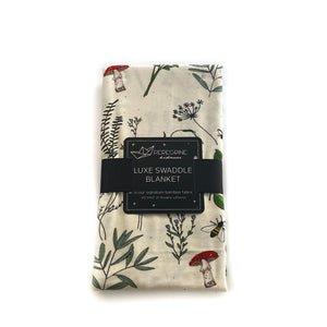 Botanical Bamboo Luxe Swaddle Blanket