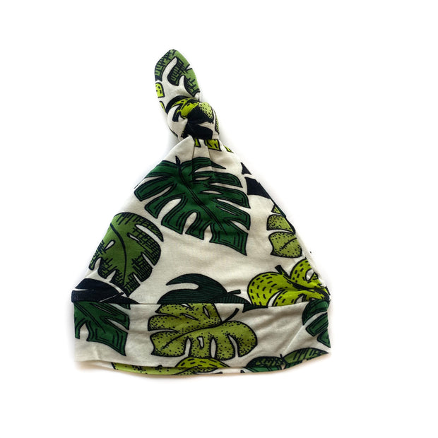Palm Leaves Bamboo Knotted Hat 1