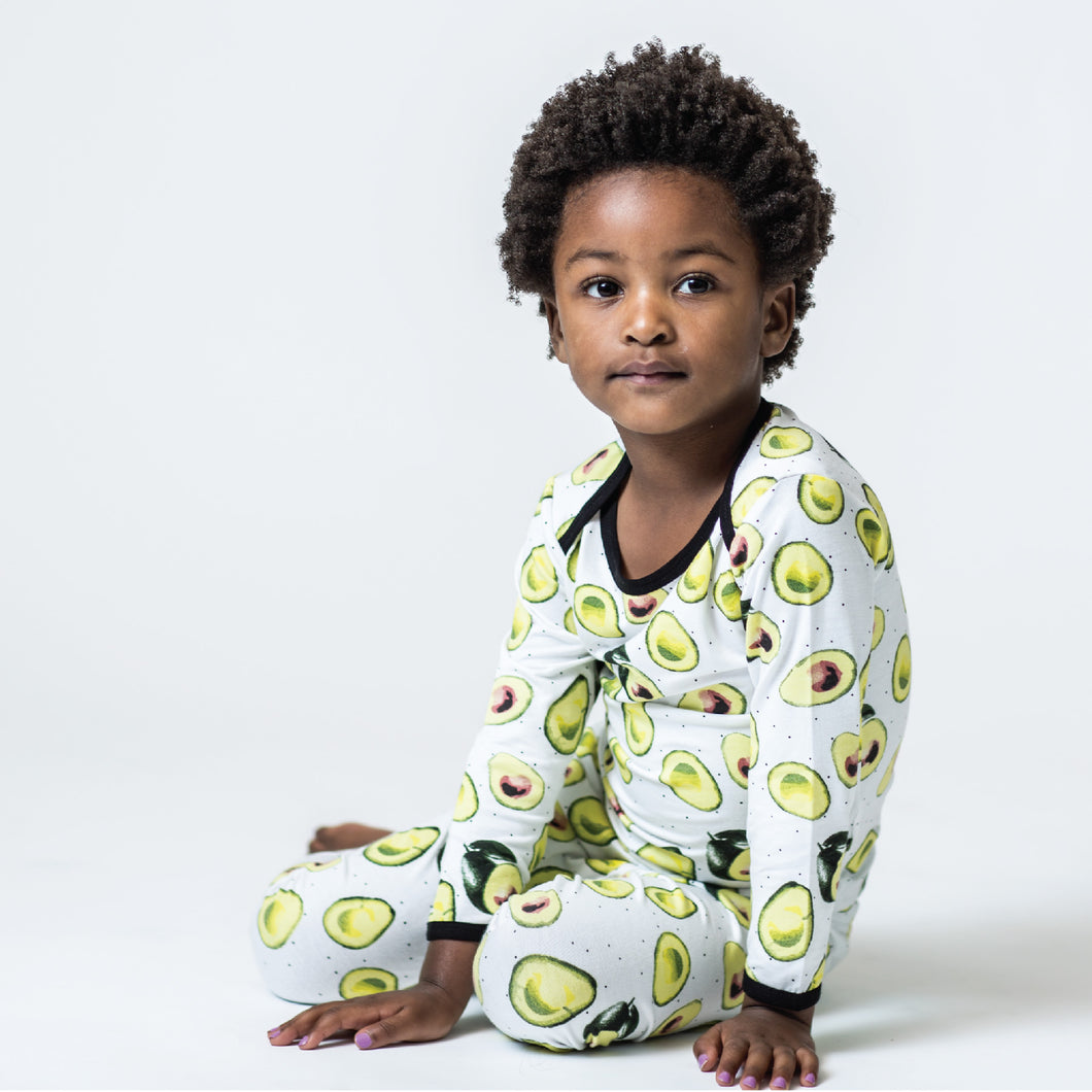 Avocado Toddler Pajamas