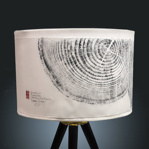 Beach Pine Tree Rings Lamp