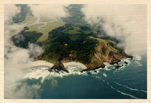 Crescent Cove and the Salmon River Estuary