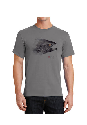 SPEEDY SALMON HEAD TEE