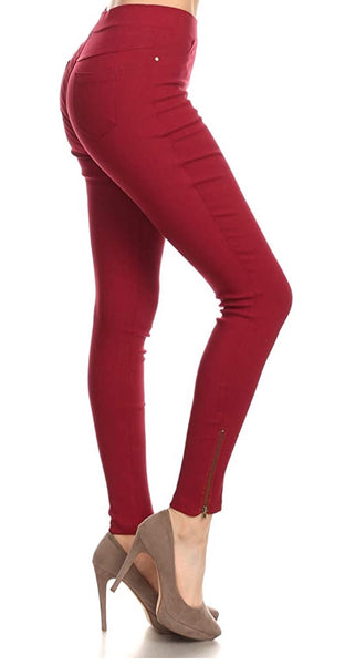 Zip Side Jeggings