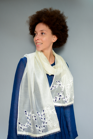 The Sheer Vine - Clothcrafte, scarves & stoles