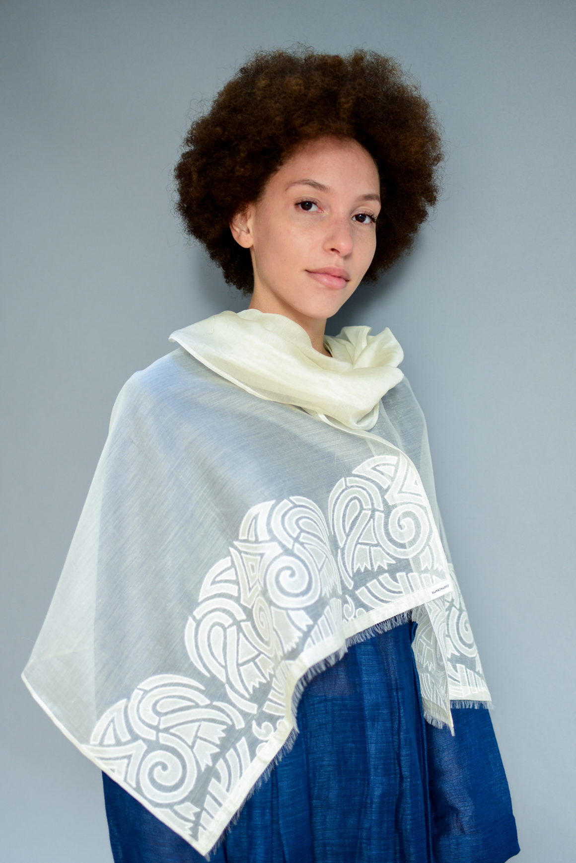 The Sheer Inca - Clothcrafte, scarves & stoles