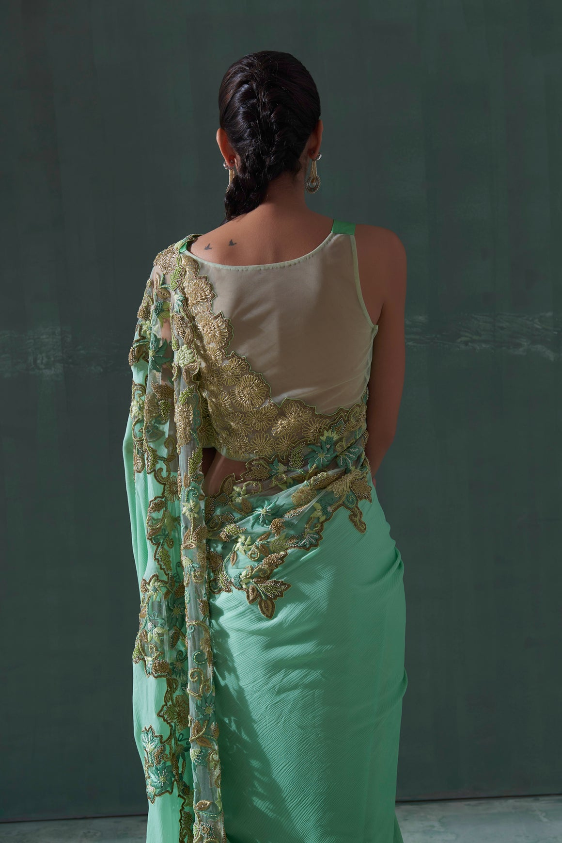 The Seraphic - Clothcrafte, Saree