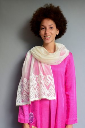 The Sheer Aztec - Clothcrafte, scarves & stoles
