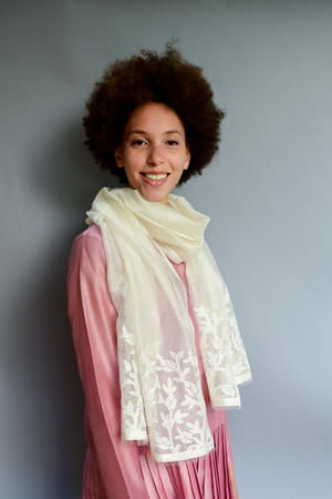 The Sheer Floret - Clothcrafte, scarves & stoles