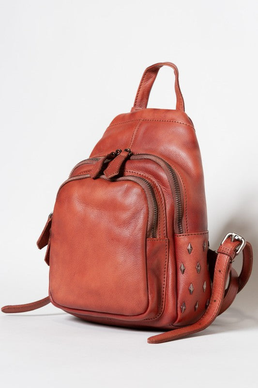 POL Geniune Leather Backpack