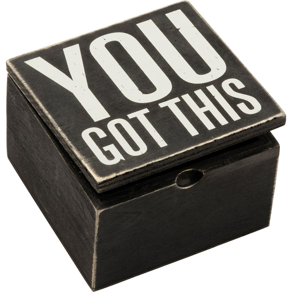 You Got This Hinged Box