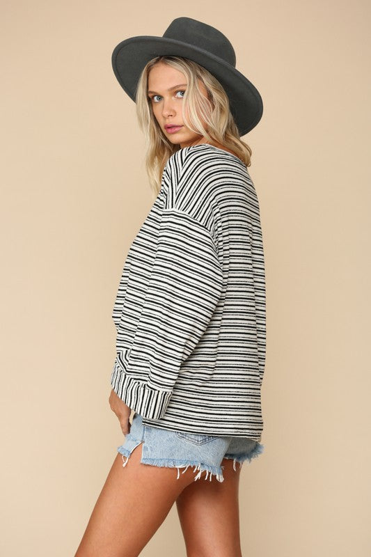 Juliette Knit Jersey Top