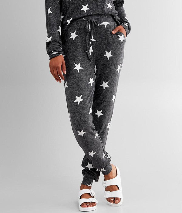 Charcoal Star Jogger