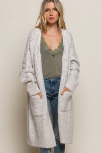 Toasted Oatmeal Cardigan