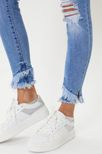 B. Gemma Mid Rise Ankle Skinny