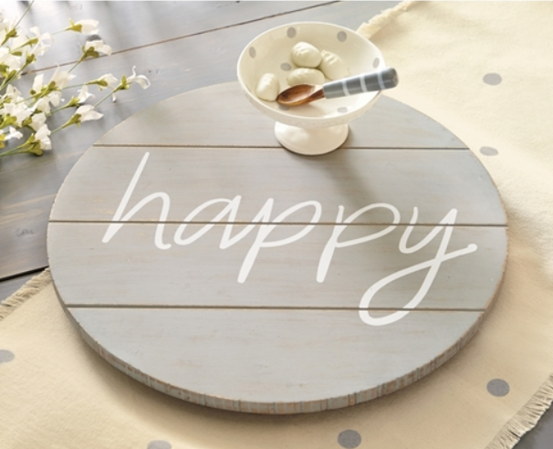 Happy Lazy Susan