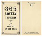 365 Lovely Thoughts Book