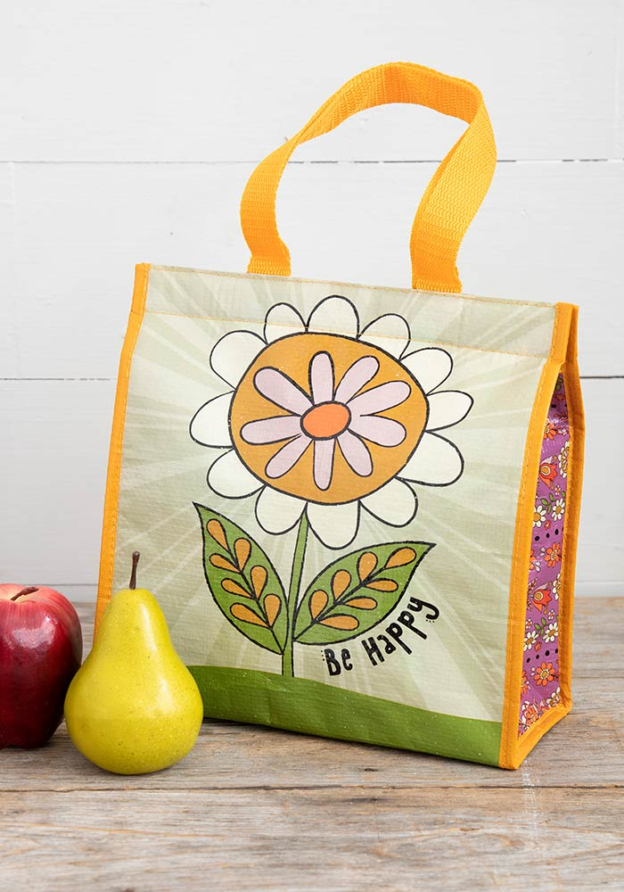 Be Happy Insulated Lunch Bag