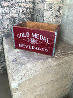Gold Medal Beverage Vintage Box