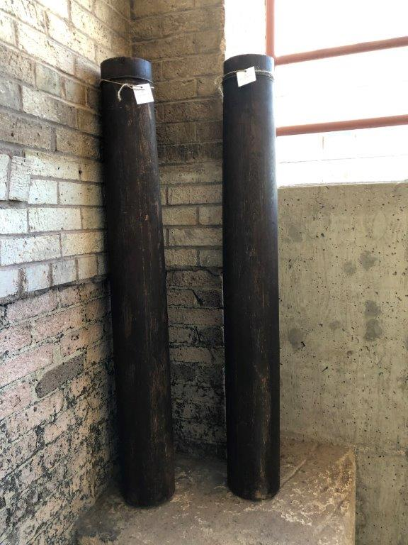 Antique Wood Pillars