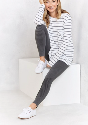 Lively Grey Moto Legging
