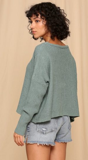 Moss Pullover Sweater
