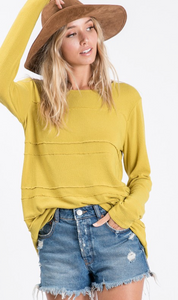 Lime Long Sleeve Top