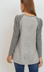 Heather Grey Top