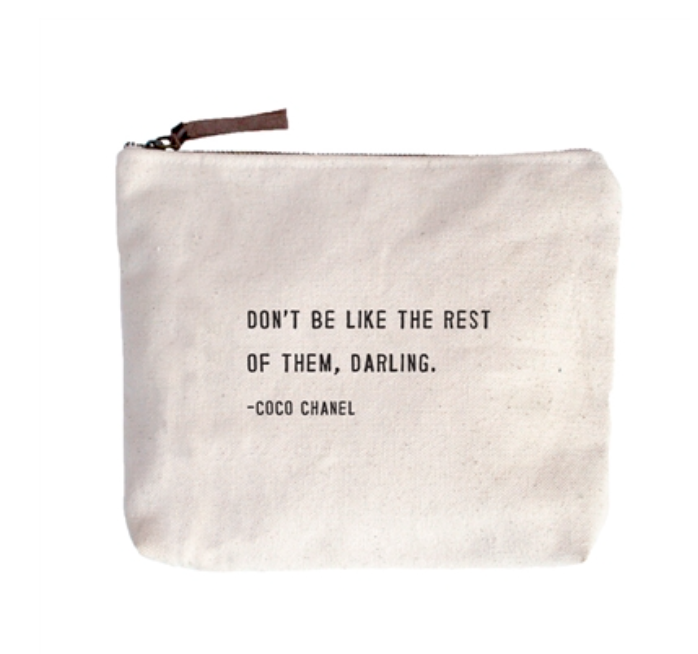 Coco Channel Canvas Bag