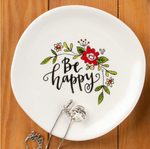 Be Happy Trinket Tray